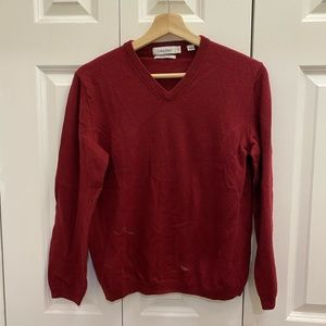 Calvin Klein men's red sweater